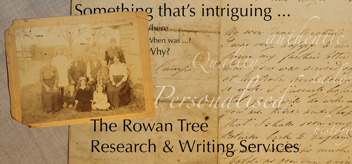 The Rowan Tree Research and Writing Service